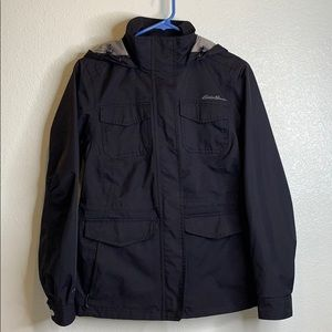 EDDIE BAUER // WeatherEdge hooded coat